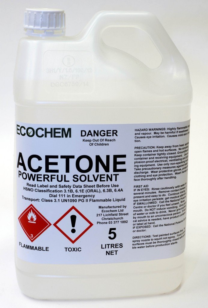Acetone Technical Grade Ecochem Limited