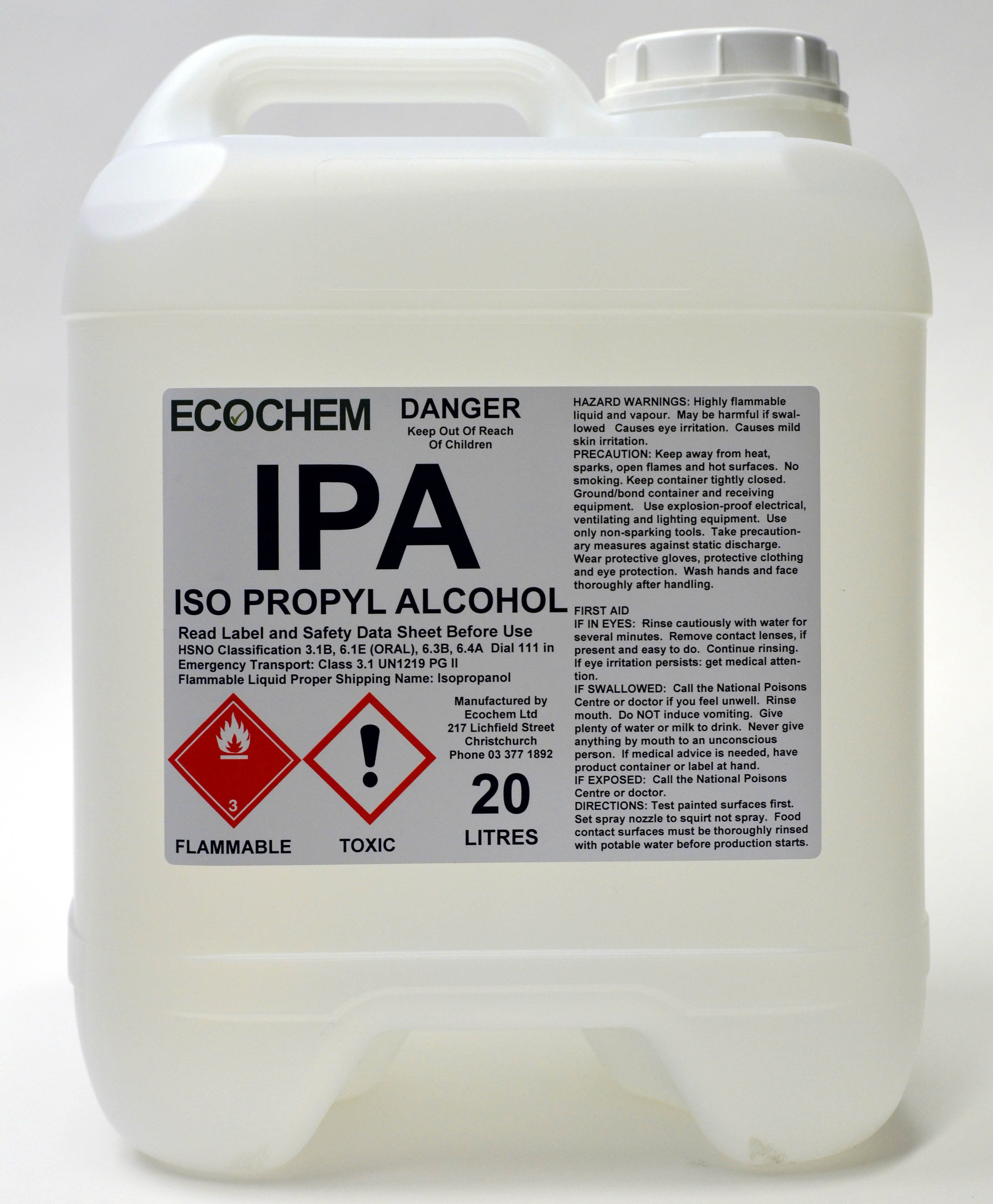 Kết quả hình ảnh cho ISO PROPYL ALCOHOL IPA