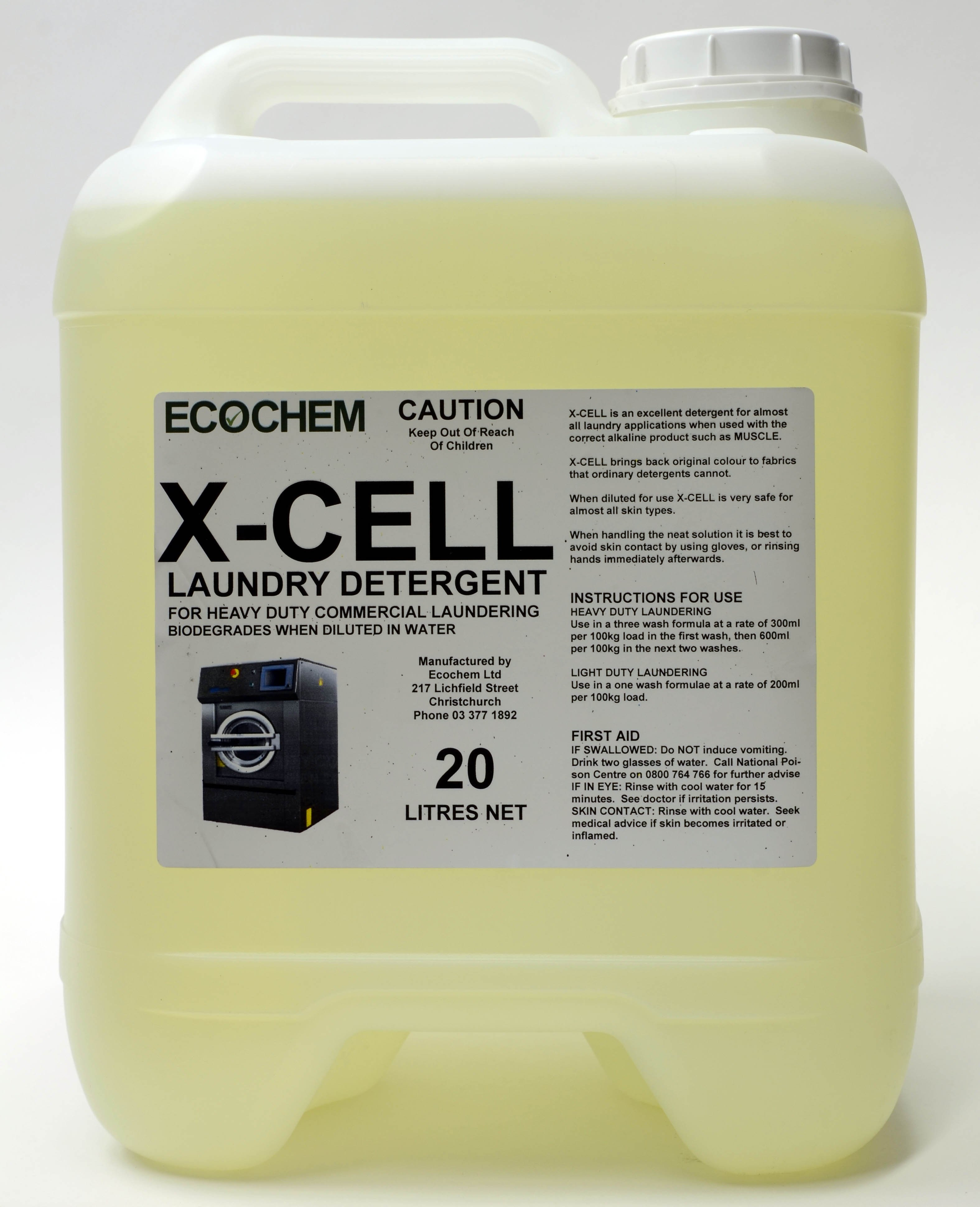 X Cell Laundry Detergent Ecochem Limited