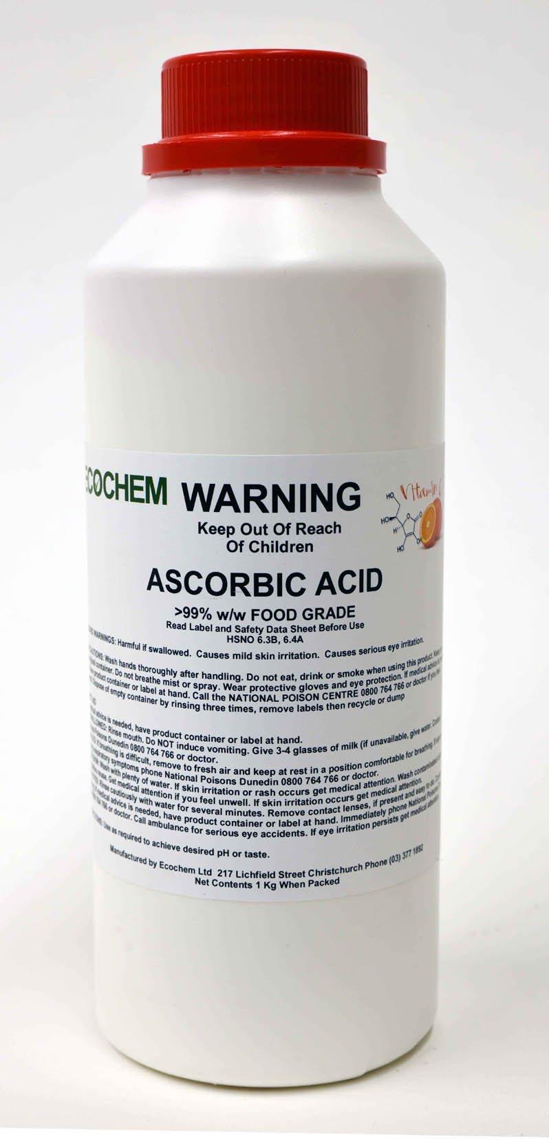 Ascorbic Acid Food Grade Gt 99 W W Ecochem Limited