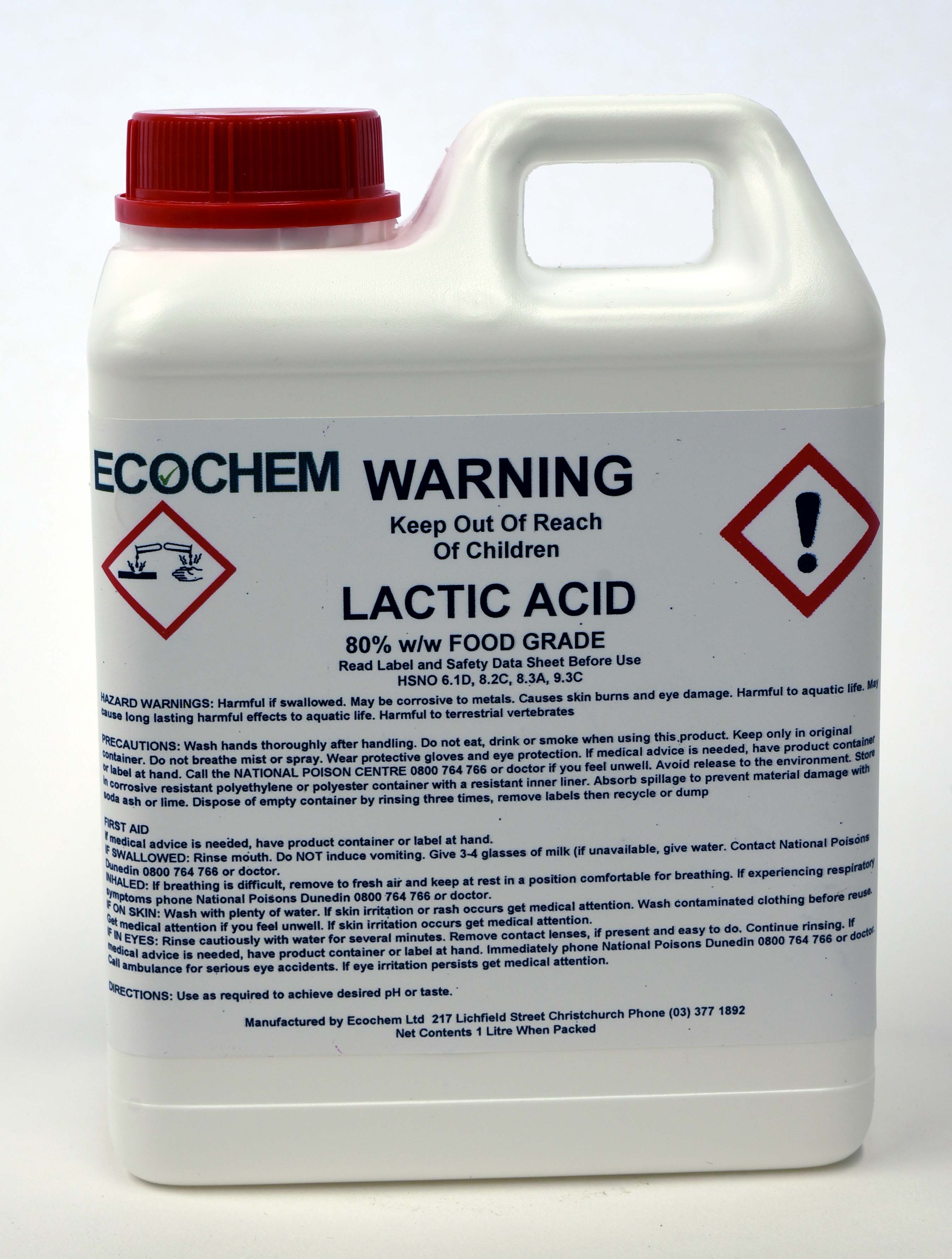 Chemicals | Order Chemicals from Ecochem | Christchurch