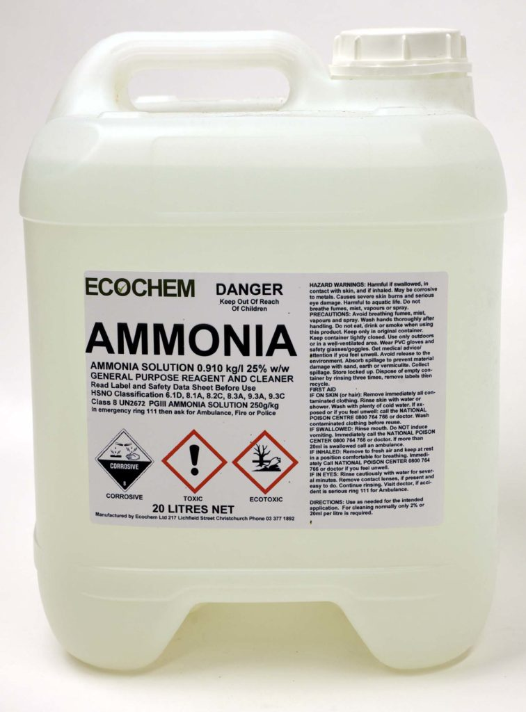 ammonia 910 ammonium hydroxide solution ecochem cleaning products. Black Bedroom Furniture Sets. Home Design Ideas