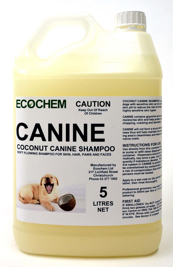 Canine Dog Shampoo Ecochem Cleaning Products