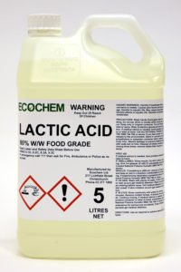 Lactic Acid 5l Ecochem Cleaning Products